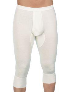Herren Unterhose 3/4 mit Eingriff