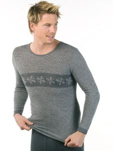 Unterhemd langarm unisex