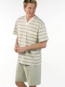 Herren Pyjama 1/4 Arm