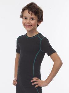 Kinder Hemd 1/4 Arm unisex