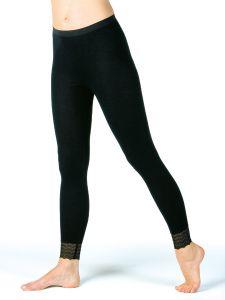 Damen Unterhose lang mit Beinspitze