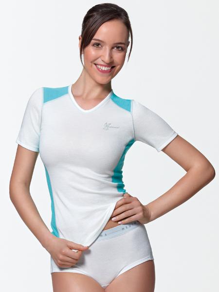 Damen Unterhemd / Shirt V-Neck