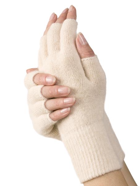 Handschuhe 1/2 Finger