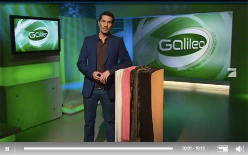 Pro7 Galileo bei Medima zu Gast