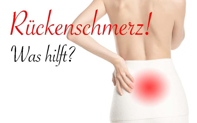 Rückenschmerz-Volkskrankheit Nr. 1