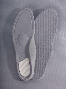 Einlegesohle mit Shocktech Schaum und Silber