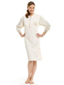 Damen Nachthemd langarm