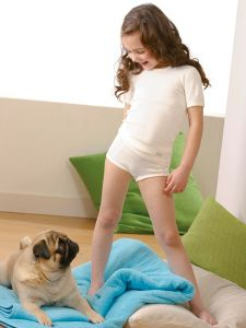 Kinder Mädchen Slip