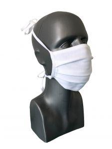 Mund-Nasen-Maske (2 Stk.) weiß