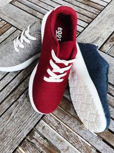 Sneaker gefilzt